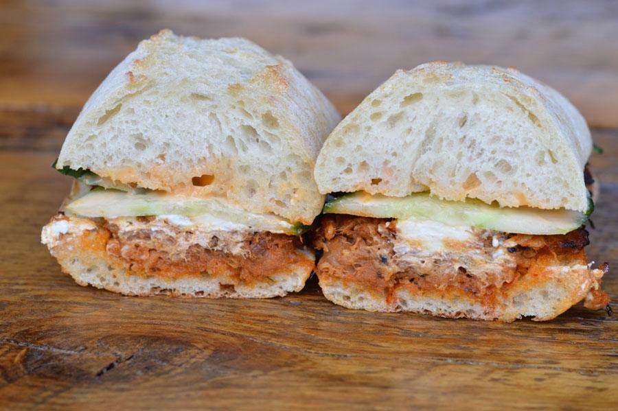 Osaka Pork Sandwich Cafe Pave Montreal
